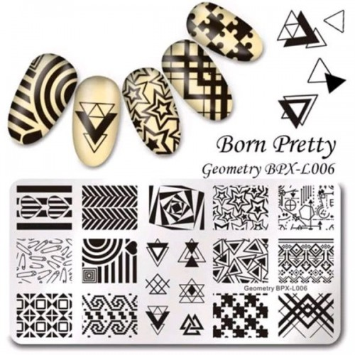 Пластины для стемпинга Born Pretty XL006