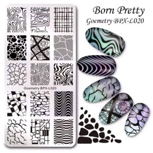 Пластины для стемпинга Born Pretty XL020