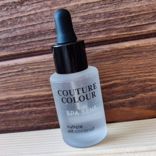 Масло для кутикулы Couture Spa Sens Cuticle Oil Coconut 30мл